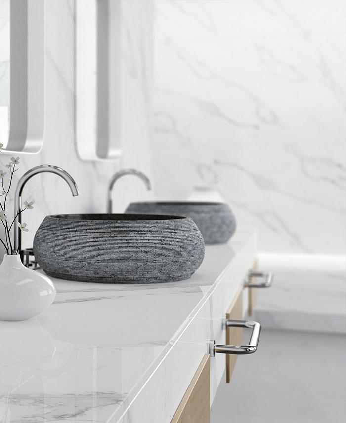 Bancadas de casa-de-banho
